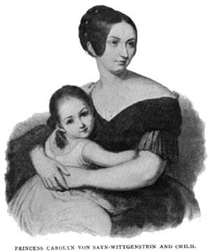 The Asiatic languor of Liszt's squeeze, handing down to her daughter a secret of the burning love potions possessed in the seraglios